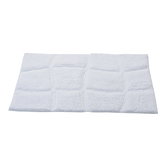 Homefurry White Jelly Belly Bath Mat
