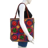 Ethnic Tote Bag With...