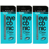 New Lakme Eyeconic Kajal Best Offer Pack Of 3(0.35g)