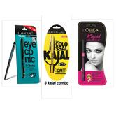 Different Kajal Combo Pack Of 3