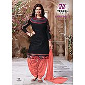 Latest Patiyala Collection 21_08 Black & Orange