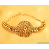 Antique Gold Kundan Bajuband