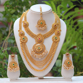 Craftsvilla South Indian Haram Necklace Set