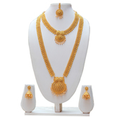 Craftsvilla Golden Color Maharashtrian Haram Necklace Set