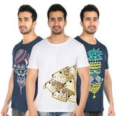 Pattachitra T Shirt Combo 007 Handpainted T Shirt