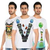 Tribal Art T Shirt Combo 025 Hand Painted T Shirts