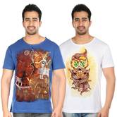Tribal Art T Shirt Combo 029 Hand Painted T Shirts
