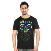 Mexiowl Beard Handpainted T Shirt
