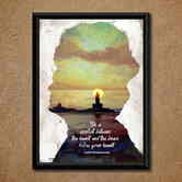 Swami Vivekananda Wall Poster (with Frame)