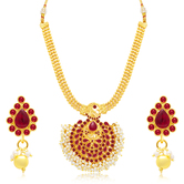 Sukkhi Finely Gold Plated Necklace Set For Women