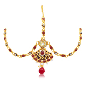 Sukkhi Fashionable Gold Plated Mathapatti For Women