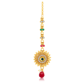 Sukkhi Eye-catchy Gold Plated Mangtikka For Women