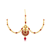 Sukkhi Designer Gold Plated Mathapatti For Women