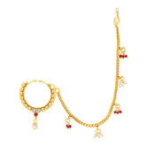 Sukkhi Fancy Gold Plated Nose Pin For Women