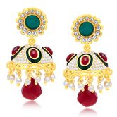 Sukkhi Luxurious Gold Plated Jhumki Earring For Women