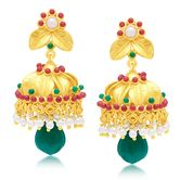 Sukkhi Excellent Gold Plated Jhumki Earring For Women