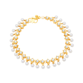 Sukkhi Exquitely Gold Plated Anklet For Women
