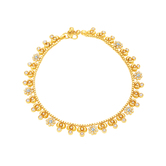 Sukkhi Traditionally Gold Plated Anklet For Women