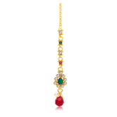 Sukkhi Ravishing Gold Plated Mangtikka For Women