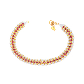 Sukkhi Fine Gold Plated Anklet For Women