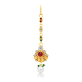 Sukkhi Glistening Gold Plated Mangtikka For Women