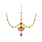 Sukkhi Charming Gold Plated Mathapatti For Women