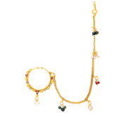 Sukkhi Alluring Gold Plated Nose Pin For Women