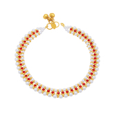 Sukkhi Fancy Gold Plated Anklet For Women