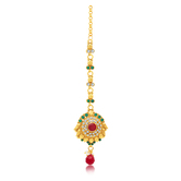 Sukkhi Splendid Gold Plated Mangtikka For Women