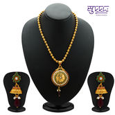 Sukkhi Gleaming Gold Plated Coin Necklace Set For Women - Necklaces By Sukkhifashion