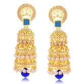 Sukkhi Youthful Gold Plated Jhumki Earring For Women