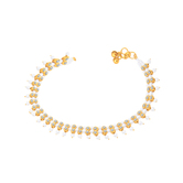 Sukkhi Sleek Gold Plated Anklet For Women