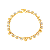 Sukkhi Fabulous Gold Plated Anklet For Women