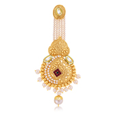 Sukkhi Resplendent Gold Plated Passa For Women