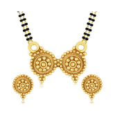 Sukkhi Royal Gold Plated Mangalsutra Set For Women