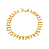 Sukkhi Creative Gold Plated Anklet For Women