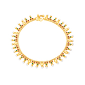 Sukkhi Magnificent Gold Plated Anklet For Women
