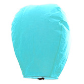 Kaarigar Beautiful Turquoise Paper Made Sky Lantern 102
