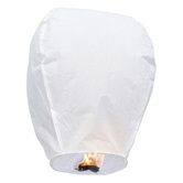 Kaarigar White Paper Made Make A Wish Sky Lantern 103