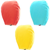 Kaarigar Set Of 3 Multiolor Paper Made Sky Lanterns 301