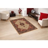 Presto Bazaar Beige Colour Traditional Carpet (3 X 5 Feet)