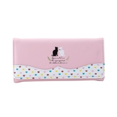 Stylish And Fancy Light Pink Wallet