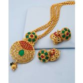 Alloy Pendant Set With Yellow Gold Plating
