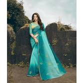 Craftsvilla Blue Raj...