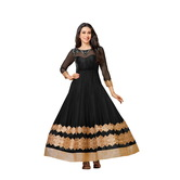 Craftsvilla Georgette Embroidered Anarkali Suit Dupatta Material