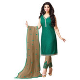 Craftsvilla Georgette Embroidered Salwar Suit Dupatta Material