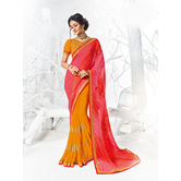 Craftsvilla Multicolor Georgette Embellished Designer Saree