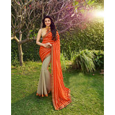 Craftsvilla Multicolor Jacquard Embellished Designer Saree