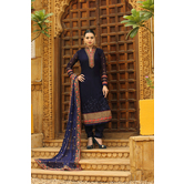 Craftsvilla Designer Blue Color Georgette Salwar Suit