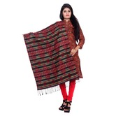 Anuswara Multicolor Printed Woolen Winter Shawl